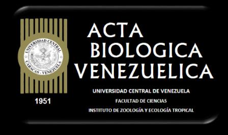 Acta Biologica Venezuelica